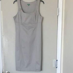 United Colors of Bennington gray pencil dress
